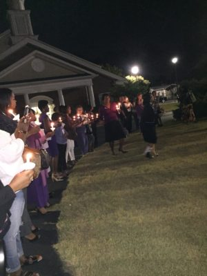 Domestic Violence Candlelight Vigil GA